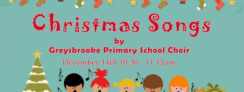 Greysbrooke-Choir-Christmas Event at Shenstone Library