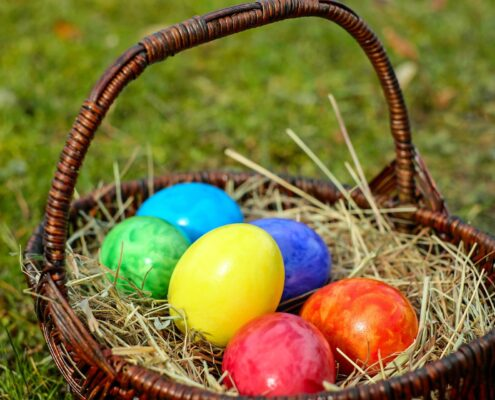 Easter Activities at Shnestone Library